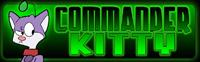 Commander Kitty, by Scotty Arsenault